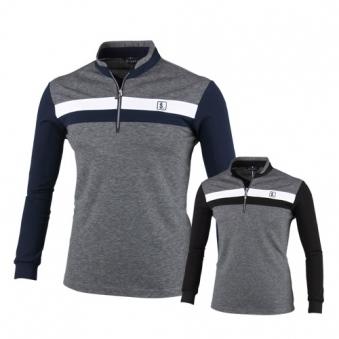 루센 프리미엄 반집업 스탠드카라 골프셔츠 MLU8A416 (업체별도 무료배송)