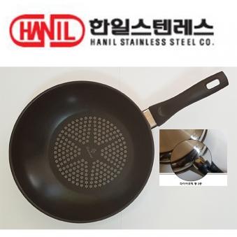 한일스테인레스 통3중 다이아코팅 궁중팬 28cm (업체별도 무료배송)