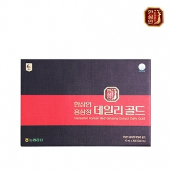 한삼인 홍삼정 데일리골드 10ml*30포  (업체별도 무료배송)