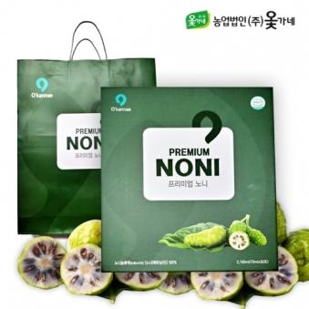 옻가네 프리미엄 노니 100% 70ml*30포+쇼핑백증정 (업체별도 무료배송)