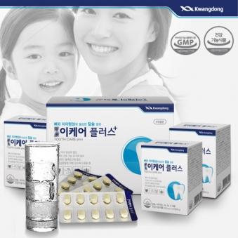 광동 이케어 플러스 4개월분 240정 칼슘 비타민D (업체별도 무료배송)