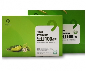 프리미엄 고농축 노니 100스틱 13g*30포+쇼핑백증정 (업체별도 무료배송)
