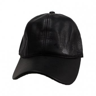 [에잇볼륨] EV Plain Leather Cap (블랙) (업체별도 무료배송)