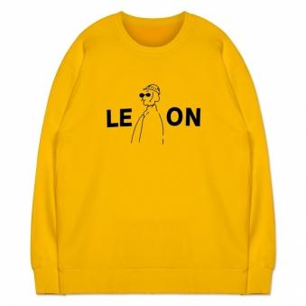 박스핏 레온 맨투맨 티셔츠(기모면,특양면) 3종 택1 (업체별도 무료배송)
