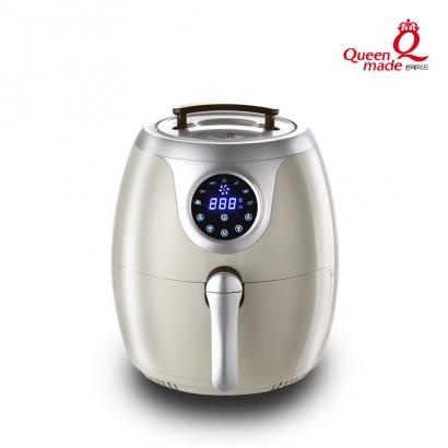 [리퍼상품] 퀸메이드 7리터 대용량 디지털 LED 에어프라이어 QAFD-5600Y (업체별도 무료배송)