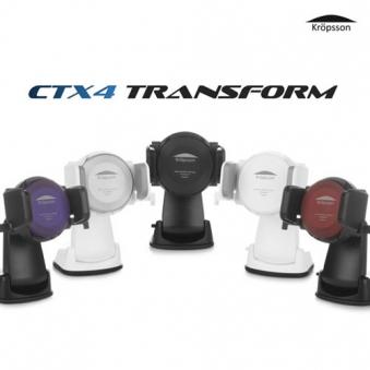 크랩슨 차량용 핸드폰 거치대 고속 무선충전 CTX4 트랜스폼 (업체별도 무료배송)