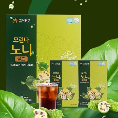 개성인삼농협 모린다노니골드 70ml X 30포+쇼핑백포함 (업체별도 무료배송)