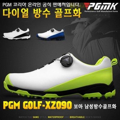 PGMK 한국 공식 판매처 보아 xz090 남성 초경량 방수 사이드 슬립방지 골프화 (업체별도 무료배송)