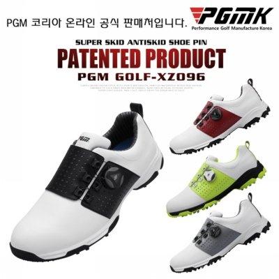 PGMK 한국 공식 판매처 보아 xz096 남성 초경량 방수 사이드 슬립방지 골프화 (업체별도 무료배송)