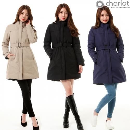 채리어트 여성 리버서플 구스 코트 (업체별도 무료배송)