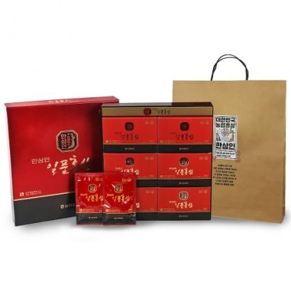 [1+1] 한삼인 일품홍삼 70ml*30포+쇼핑백증정 (업체별도 무료배송)