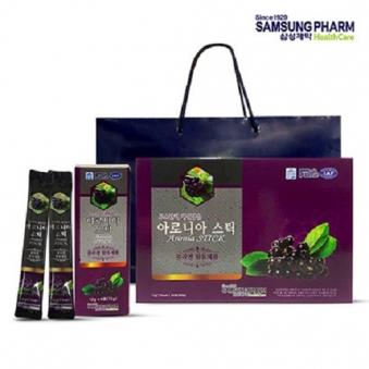 삼성제약헬스케어 아로니아 진액 스틱 1세트(12g x 30포) (업체별도 무료배송)