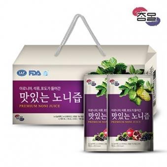 참말 맛있는 노니즙 1박스(70mL*30포) (업체별도 무료배송)