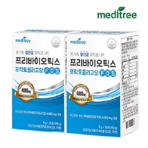 메디트리 프리바이오틱스 FOS 4000 30포 x 2세트 (업체별도 무료배송)