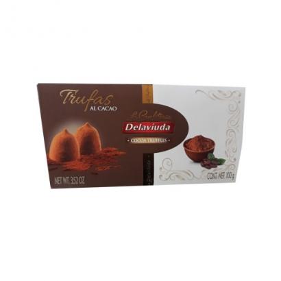 델라비우다 코코아트러플 초콜릿 100g
