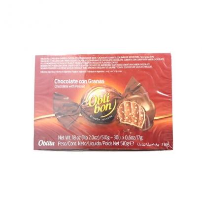 오블리본 초콜릿 콘 그라나스 510g