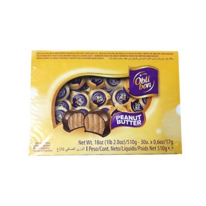 오블리본 피넛버터 초콜릿 510g