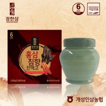 정한삼 홍삼침향진액고 1kg+보자기포함 (업체별도 무료배송)