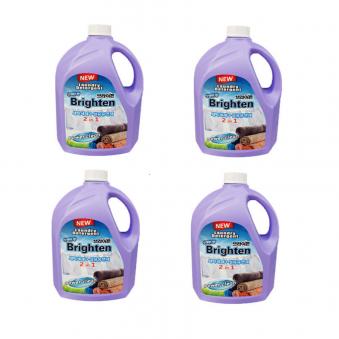 [다다익선] 브라이튼 올인원 액체세제2.5L X 4개(세제+섬유유연제) (업체별도 무료배송)