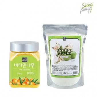 비타민나무열매 150g+풋사과분말 300g (업체별도 무료배송)