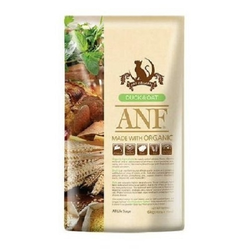 ANF 유기농 오리&귀리 CAT 2kg