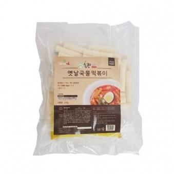 [다다익선] 몽쿡 옛날국물떡볶이 매운맛 370g x 3개 (업체별도 무료배송)