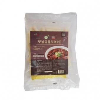 [다다익선] 몽쿡 옛날국물떡볶이 짜장맛 370g x 3개 (업체별도 무료배송)