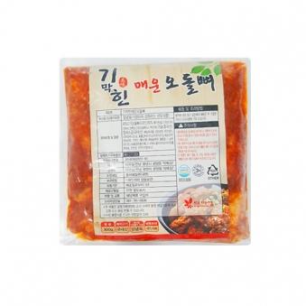 기막힌 매운오돌뼈 300g x 4개 (업체별도 무료배송)