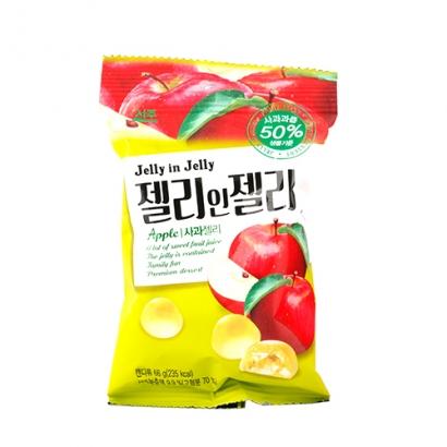 젤리인젤리 사과맛 66g