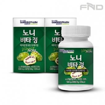 삼성제약헬스케어 노니 비타정 2통(120정) (업체별도 무료배송)