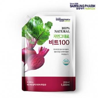 삼성제약헬스케어 레드비트100 1L X 1팩 (업체별도 무료배송)