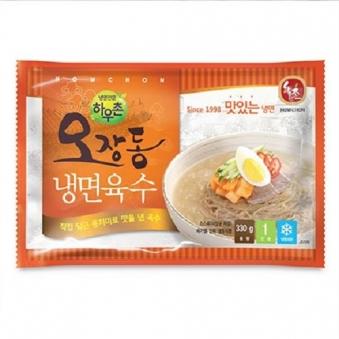 교동 오장동 냉면육수 330g X 10개 (업체별도 무료배송)