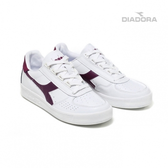 [8/19 순차배송] [Diadora/디아도라] DS170595H1 비엘리트 운동화(화이트플럼) (업체별도 무료배송)