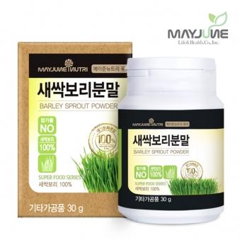 [메이준뉴트리] (국내산) 퓨어 새싹보리 분말 가루 1통(30g) (업체별도 무료배송)