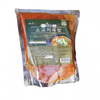 [다다익선] 몽쿡 소고기국밥 550g x 4개 (업체별도 무료배송)