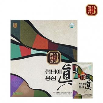 [1+1] 한삼인 천년애 홍삼진 70ml*30포+쇼핑백증정 (업체별도 무료배송)