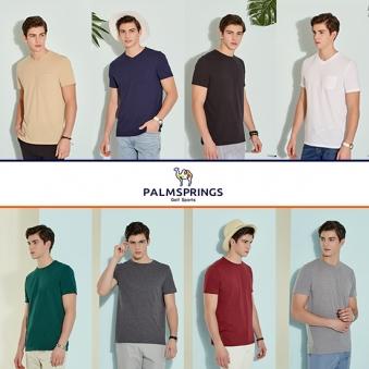 [팜스프링스] 남성 에센셜 반팔티셔츠 8종 택1 (업체별도 무료배송)
