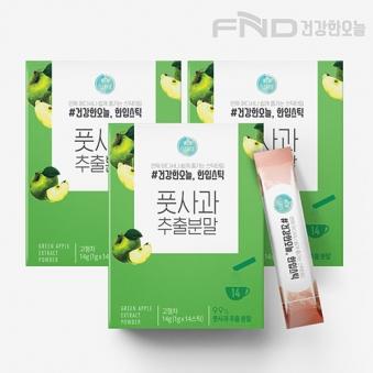 FND건강한오늘 풋사과 분말스틱 1g*42포(업체별도 무료배송)