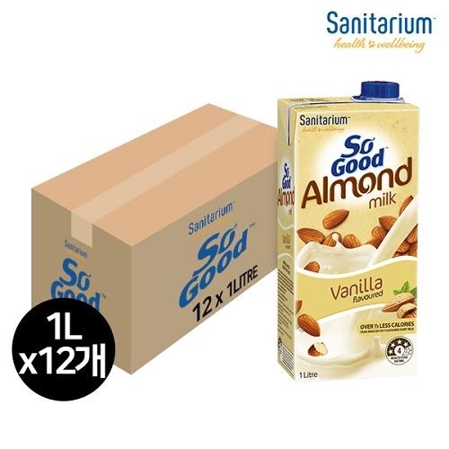 쏘굿 아몬드 밀크 바닐라맛 (1000ml x 12개) (업체별도 무료배송)