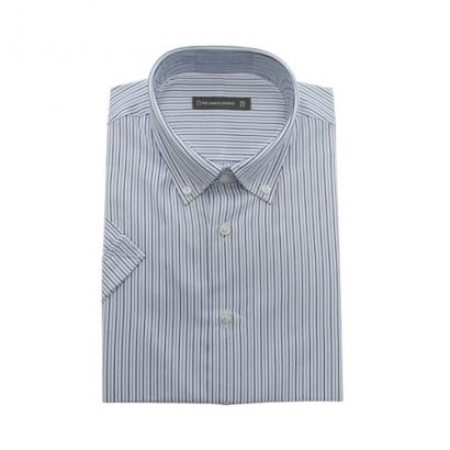 더셔츠스튜디오 반소매 피트셔츠 TD45F6153(BLUE) / 95사이즈 (업체별도 무료배송)