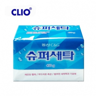 [크리오] 동산 슈퍼세탁비누 450g x 4개 (업체별도 무료배송)