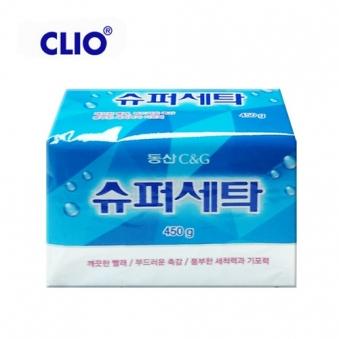 [크리오] 동산 슈퍼세탁비누 450g x 8개 (업체별도 무료배송)