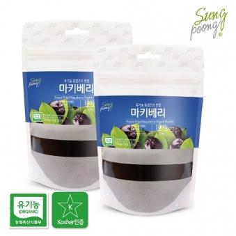 유기농 마키베리 100g X 2개 (업체별도 무료배송)