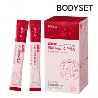 [바디셋] 이너 신바이오틱스 여성 엽산/유산균 (2g x 30포) 1박스 (업체별도 무료배송)