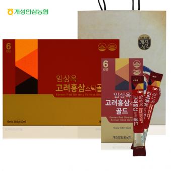 임상옥 고려홍삼스틱골드 15ml*30포+쇼핑백증정 (업체별도 무료배송)