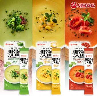 서울우유 아침에스프 15봉 (그린 5봉+레드 5봉+옐로우 5봉) (업체별도 무료배송)