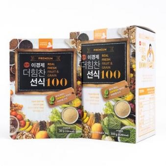 이경제 더힘찬 선식 100 30g*10포X3박스+쉐이커증정 (업체별도 무료배송)