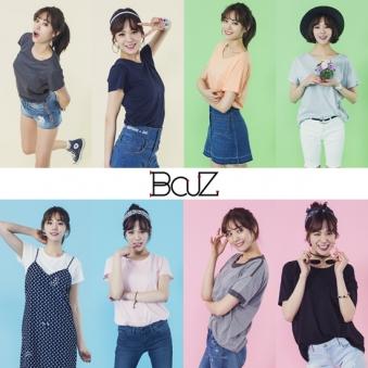 [비커즈] 여성 에코벤트 티셔츠 8종 택1 (업체별도 무료배송)