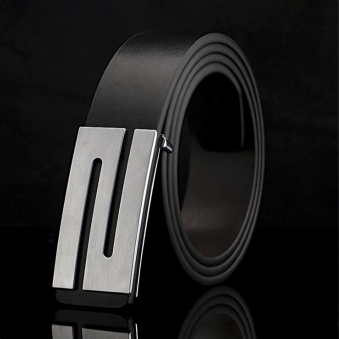 스톤라인 블랙 가죽 벨트(120cm) (업체별도 무료배송)