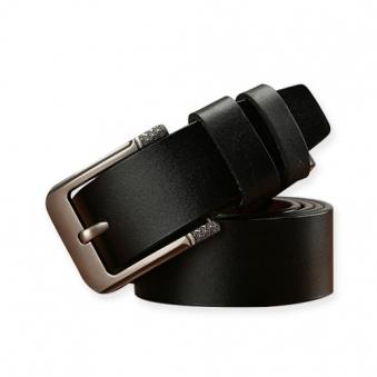 제프리 가죽 벨트(블랙)(130cm) (업체별도 무료배송)